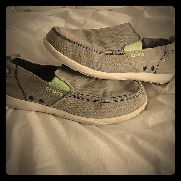 23d55d108b0 CROCS Other - Crocs Grey Walu deck shoes